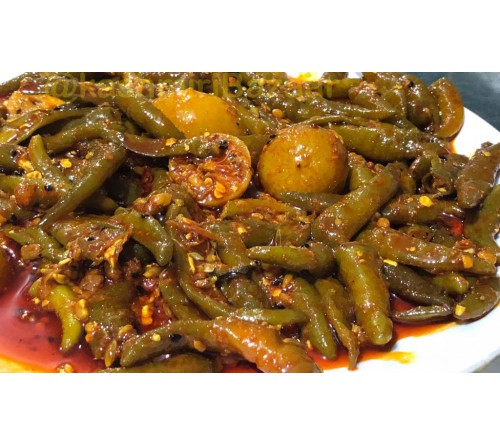 Dayal House Green Chilli Pickle