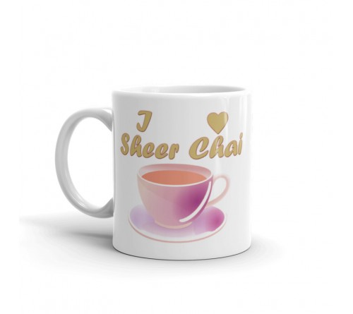 I Love Sheer Chai Mug