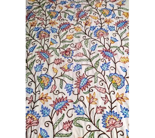 Gulabdaar Embroidered Curtain